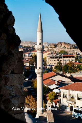 Minarete en Göreme