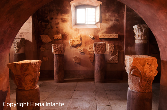 Restos arqueológicos en Bale
