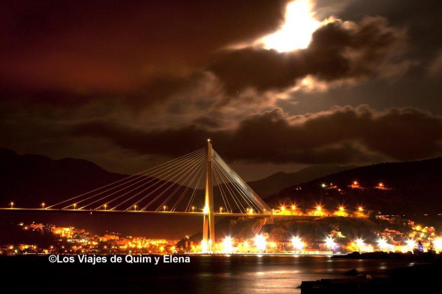 Puente antes de entrar a Dubrovnik