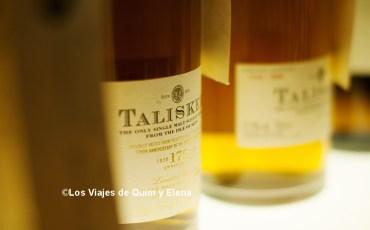 Whisky de la destilería Talisker