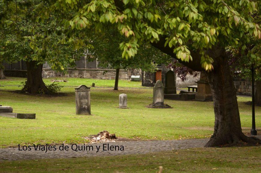 Cementerio Greyfriars - Edimburgo