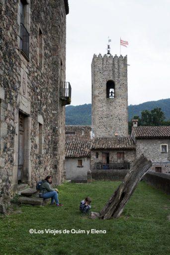Una pausa en el castillo