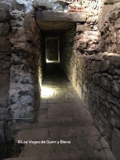 Calle romana en el Muhba