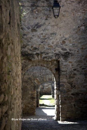 Camino que rodea la Iglesia de Santa Justa y Rufina