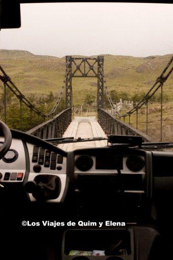 Puente bastante estrecho