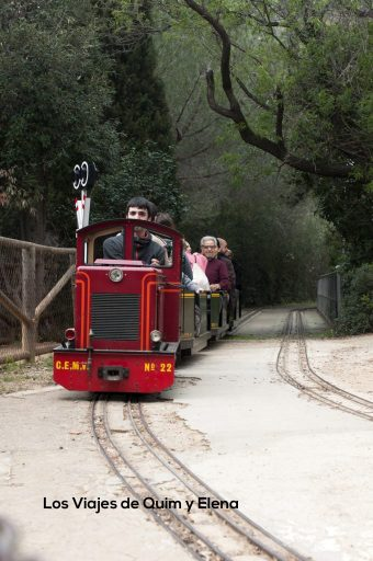 Parc de L'Oreneta con trenes para niños