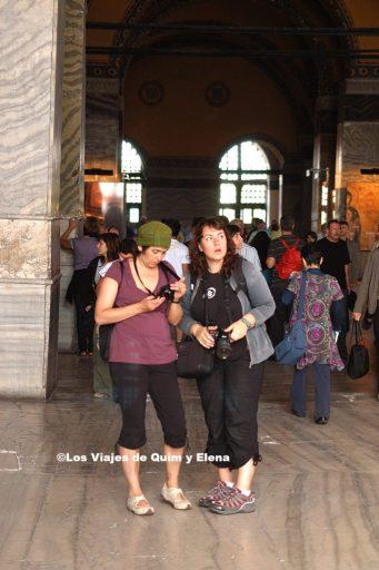 Elena y Nuria en Turquía