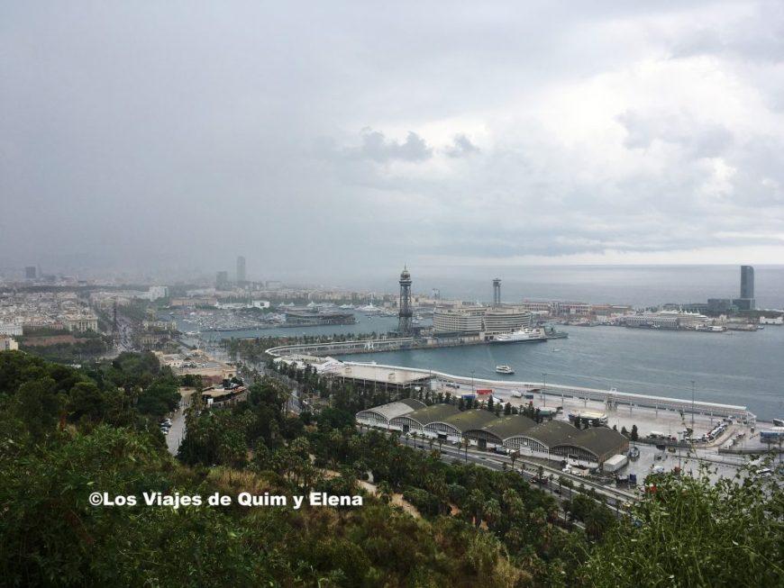 Vista de Barcelona desde el Mirador del Alcalde