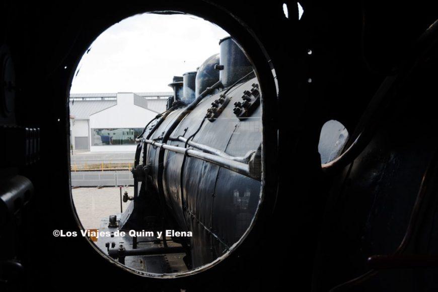 Vista desde la locomotora