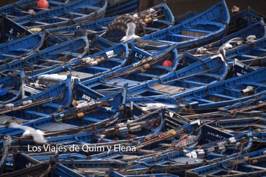 Las barcas de los pescadores