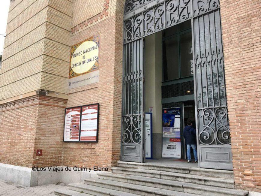 Museo ciencias naturales de Madrid
