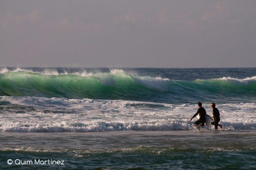 Bodyboard en Praia das Maças