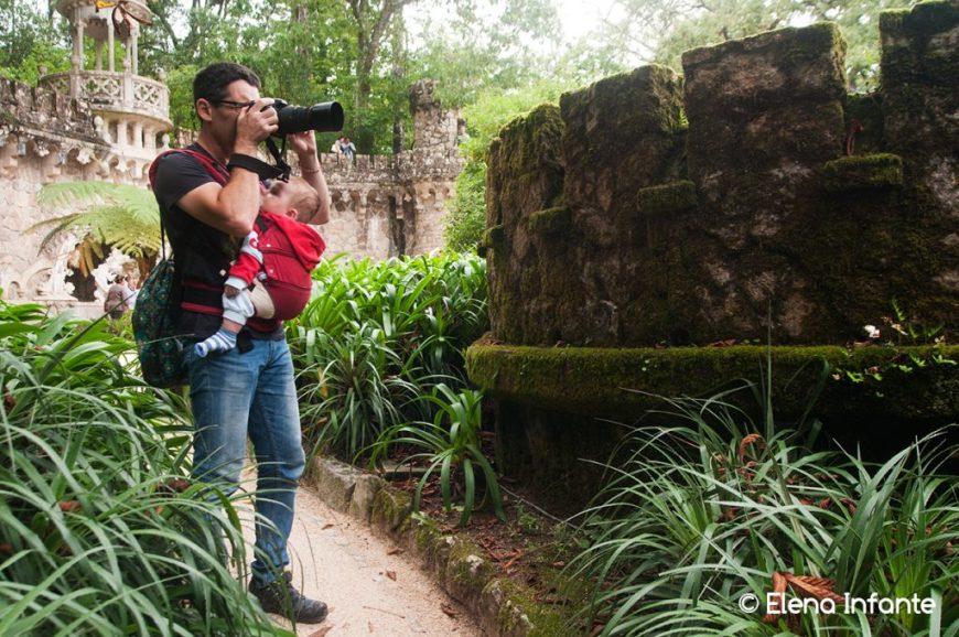 Quim y Éric en Quinta da Regaleira
