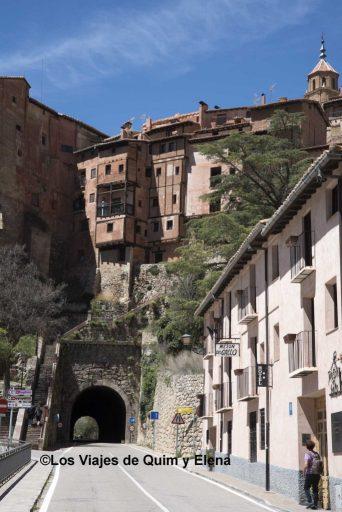 El túnel de Albarracín