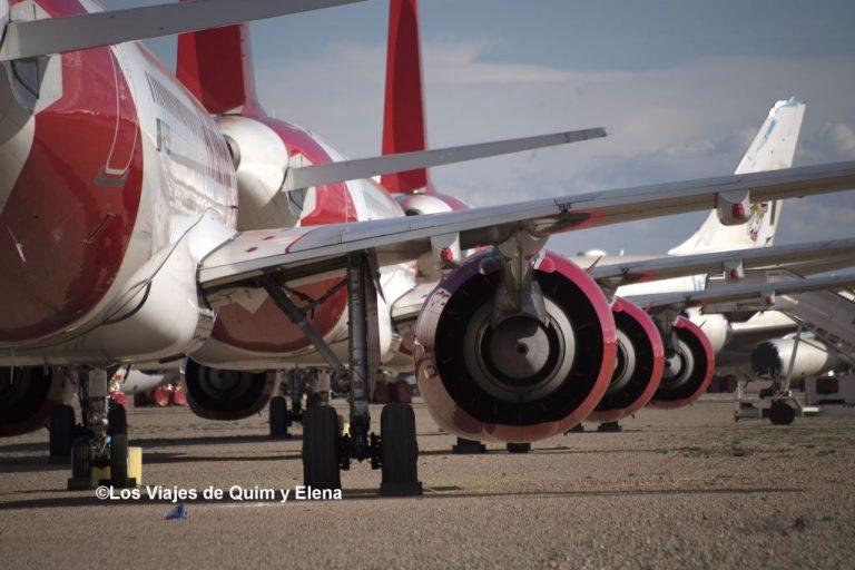 Aviones esperando una segunda oportunidad