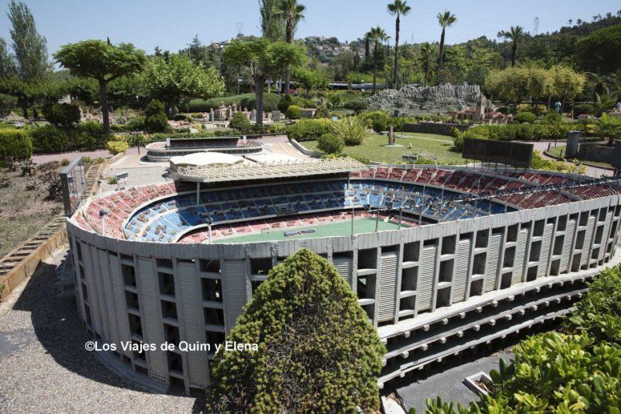 El Camp Nou en Catalunya en Miniatura