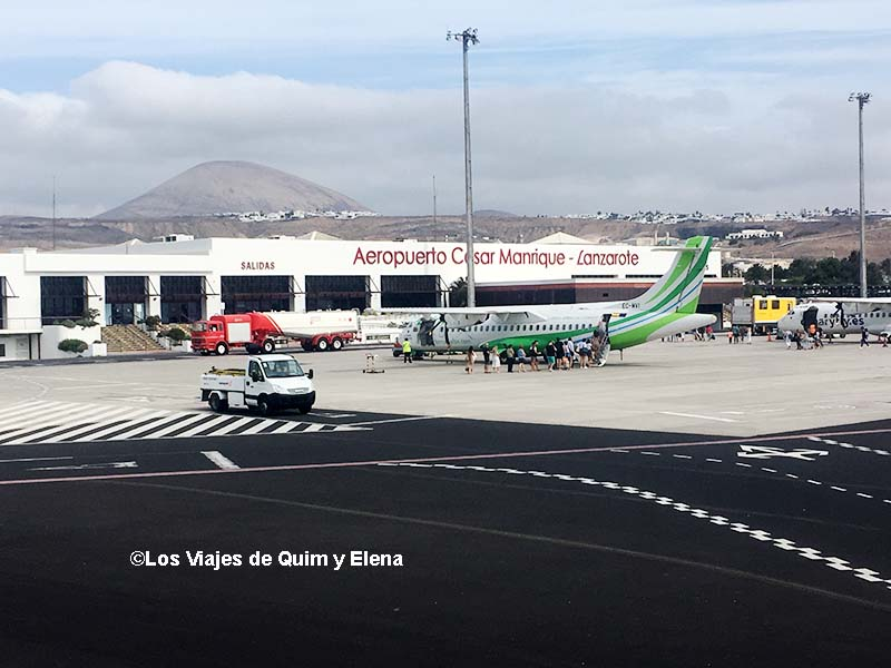 Aeropuerto de Lanzarote Cesar Manrique