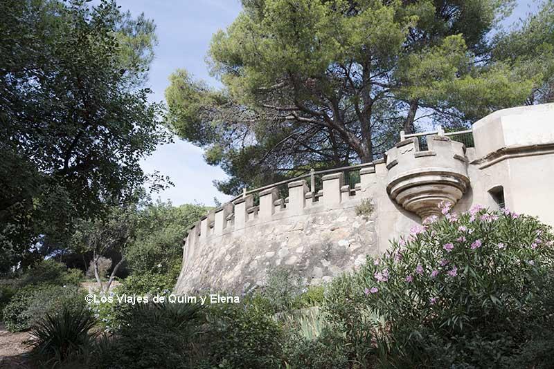 El Castillo del Parque de la Oreneta