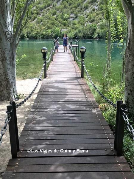 La pasarela en Sopeira - Arén