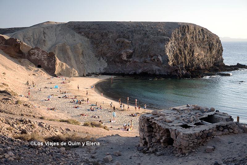 Playa Punta del Papagayo - Playas de Lanzarote