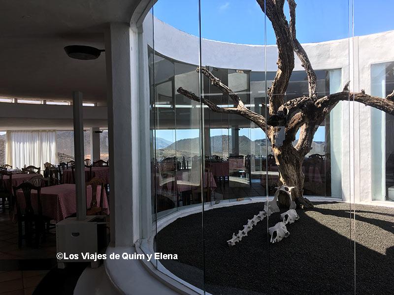 Restaurante el Diablo del Parque de Timanfaya