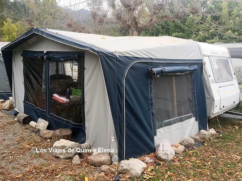 Camping L'Espelt en la Pobla de Lillet