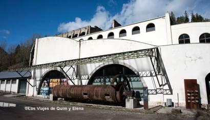 Entrada al Museu del Ciment