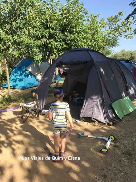 Instalados en el Ecocamping