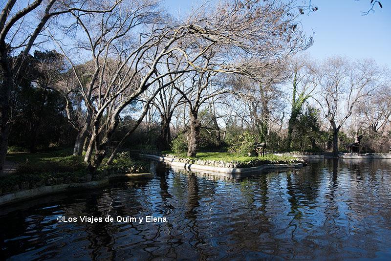 Lago del Parque El Capricho