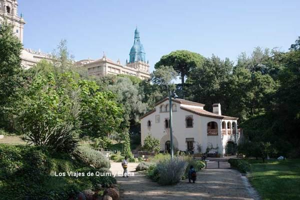 La casa del Jardin Botanico Historico