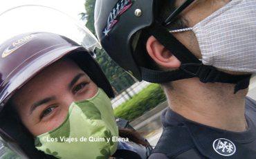 Nosotros en moto por Vietnam