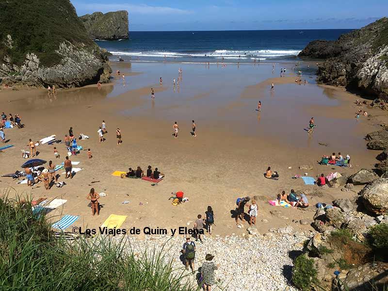 Playa el Portillu, Playas de Asturias