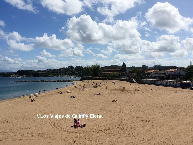 Playa de Santa Marina de Luanco