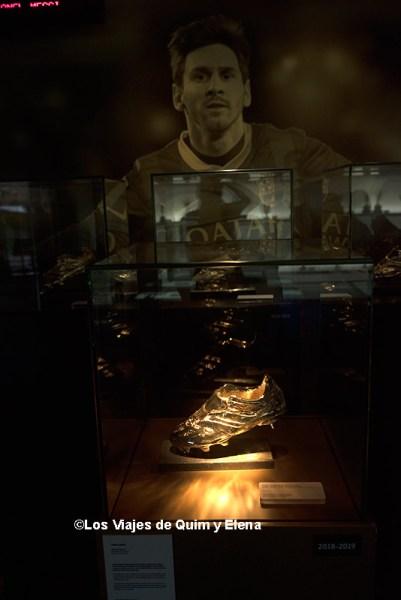 Espacio Messi en el Museo del FC Barcelona