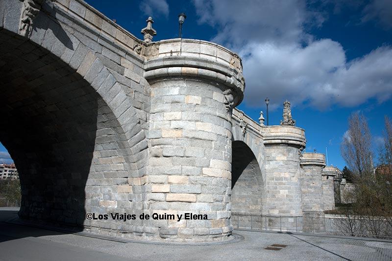 Puente de Toledo en Madrid Río
