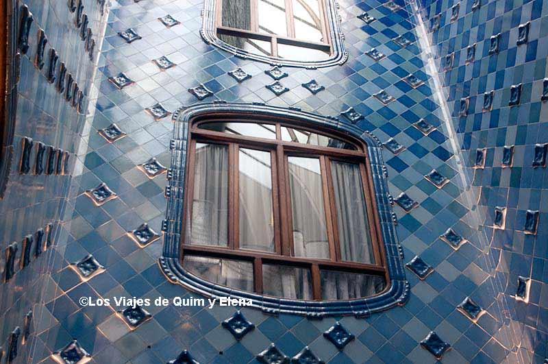 Patio interior de la Casa Batlló