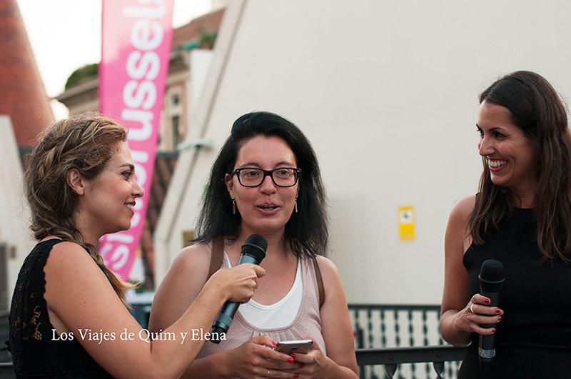 Nuria se llevo el viaje a Bruselas en el 4º Aniversario de BcnTB