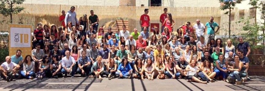 Foto de grupo del II Aniversario de Barcelona Travel Bloggers