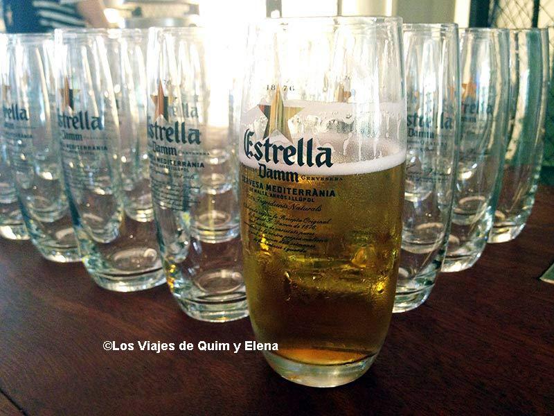 Cerveza en el II Aniversario de Barcelona Travel Bloggers