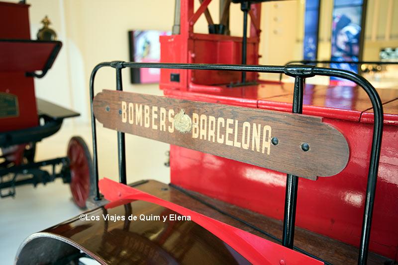 Espai Bombers en Museos Para niños en Barcelona