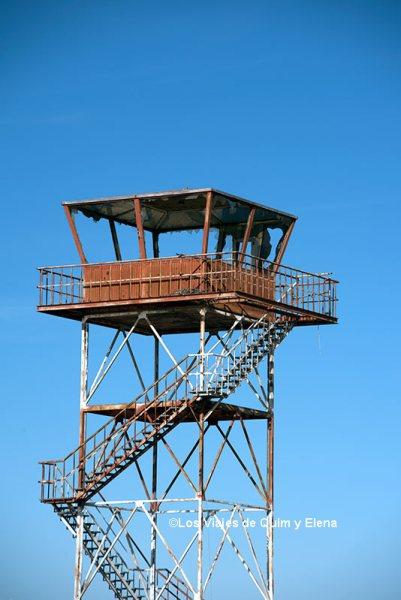 Antigua torre de control