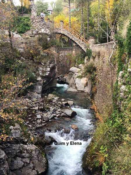 Los Jardines Artigas sobre el Llobregat