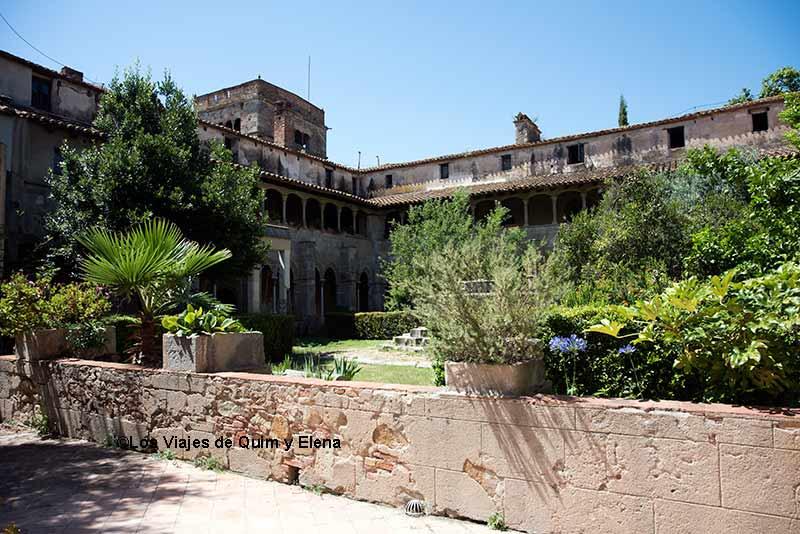 Interior del Monasterio de Sant Geroni de la Murtra