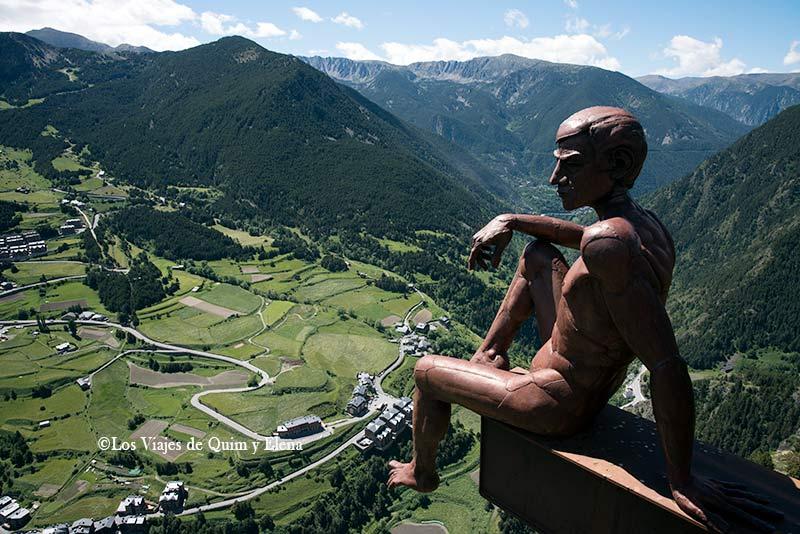 Mirador del Roc del Quer en Andorra con niños