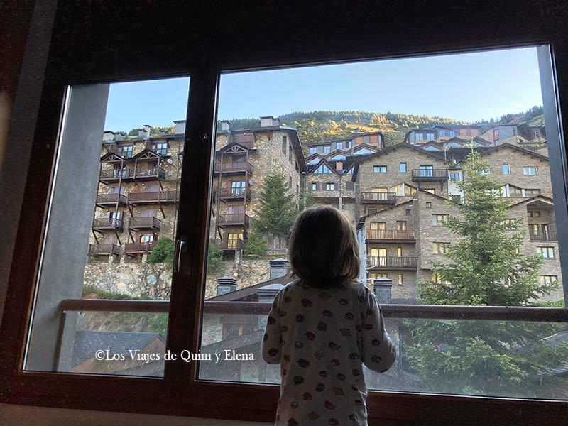 Éric en nuestro alojamiento en Andorra