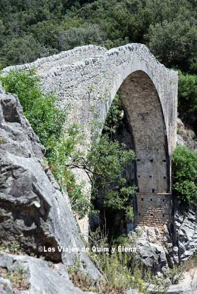 Pont de Llierca camino a Sadernes