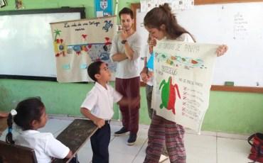 Voluntariado en el extranjero con animales - Educando a los más pequeños