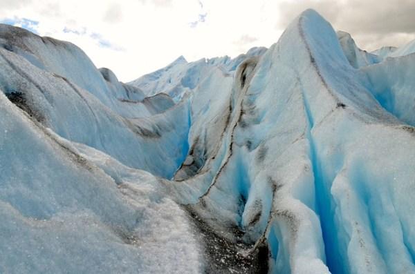 El glaciar Perito Moreno, Argentina