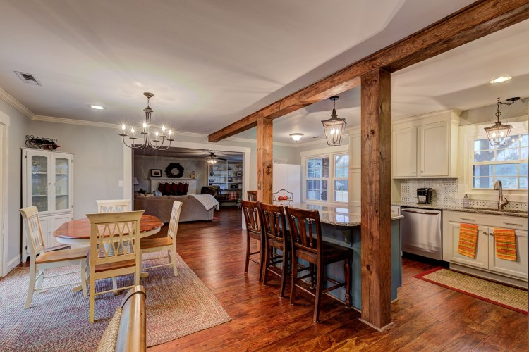 Open kitchen home in King, NC