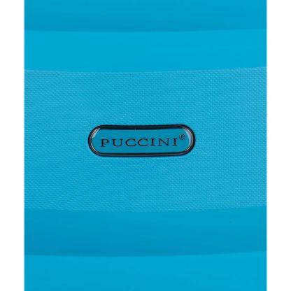 Walizka średnia Puccini Acapulco niebieska